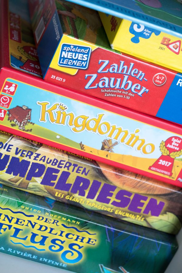 Gesellschaftsspiele für Kids