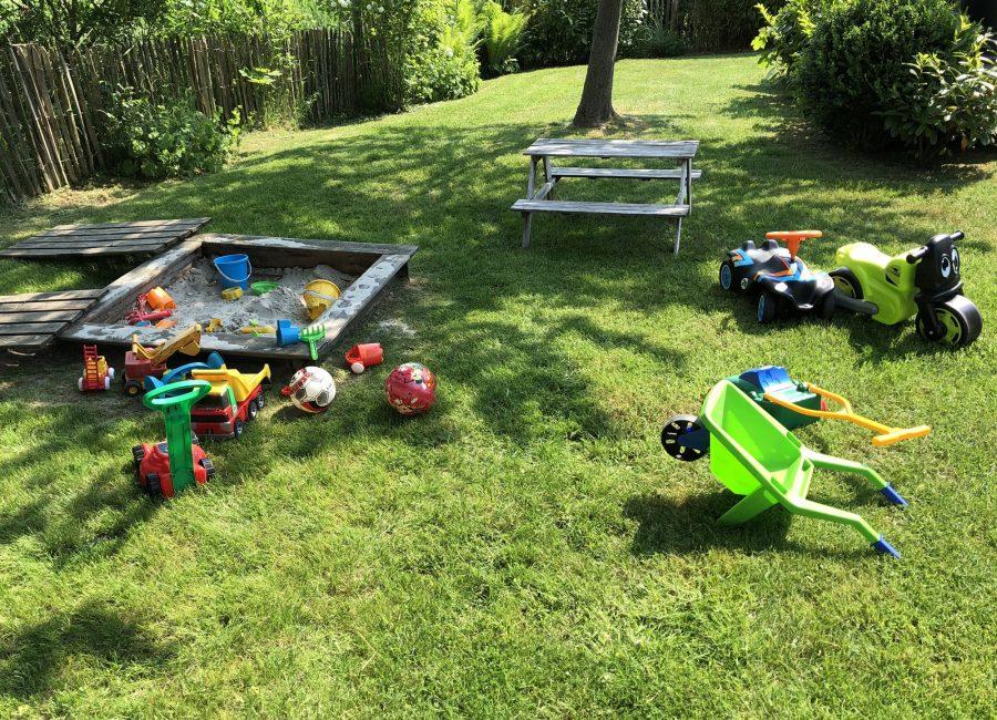Spielsachen für den Garten